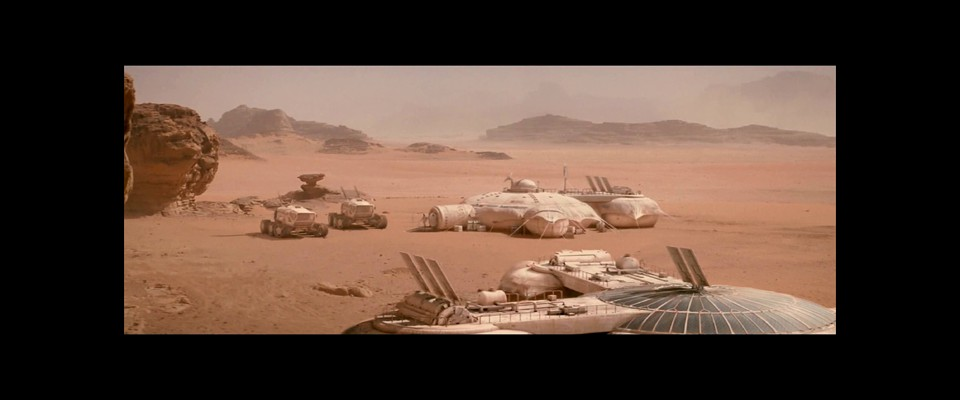 Last Days On Mars - Rovers at the Base