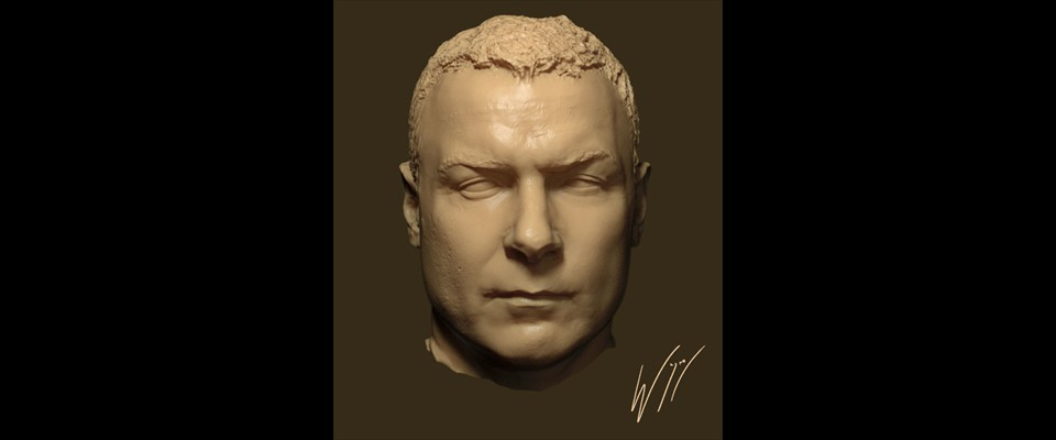 Last Days On Mars - Liev Head Raw Sculpt